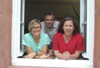 Das Team der Schulsozialarbeit (v.l.n.r.): Lisa Behret, Ralf Kliche, Ivonne Achtermann