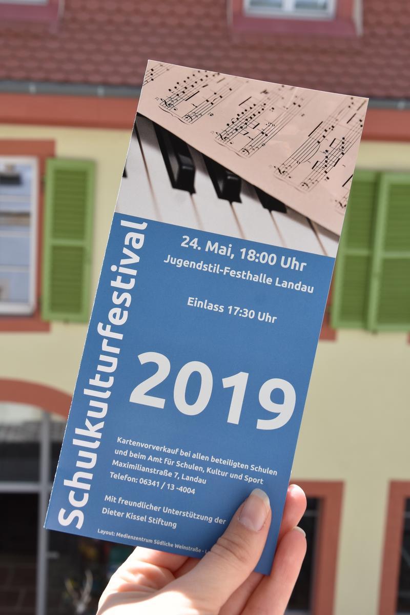 9. Landauer Schulkulturfestival am Freitag, 24. Mai, in der Jugendstil-Festhalle