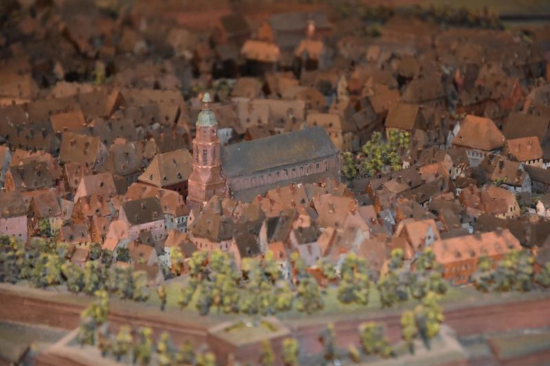 """Ein Blick auf das """"alte Landau"""": Das Museum für Stadtgeschichte in der Maximilianstraße informiert anschaulich über Landaus Geschichte – unter anderem anhand eines historischen Festungsmodells."""
