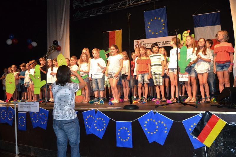 Das Forum Rezitation, das Kindern spielerisch die Kenntnisse der französischen Sprache näherbringt, gehört zu den regelmäßigen Veranstaltungen, die die Deutsch-Französische Gesellschaft Landau durchführt.