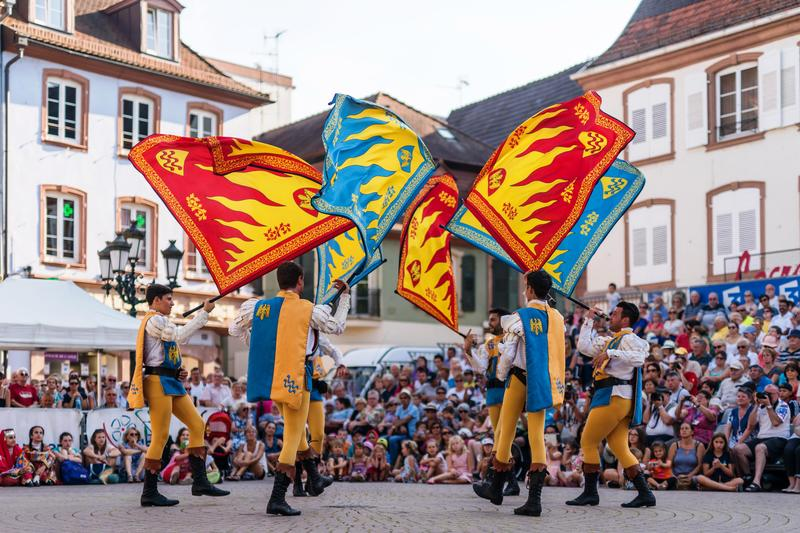 Hopfenfestivals in Landaus Partnerstadt Hagenau