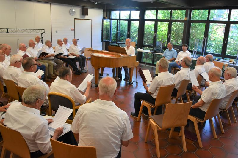 Die Chorgemeinschaft Bäckersänger/Eintracht Liedertafel Landau probt regelmäßig in den Räumen des Bethesda.