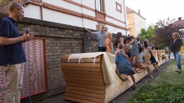 Das Sommerfest der kuk-Malwerkstatt in Landau war wieder ein voller Erfolg.