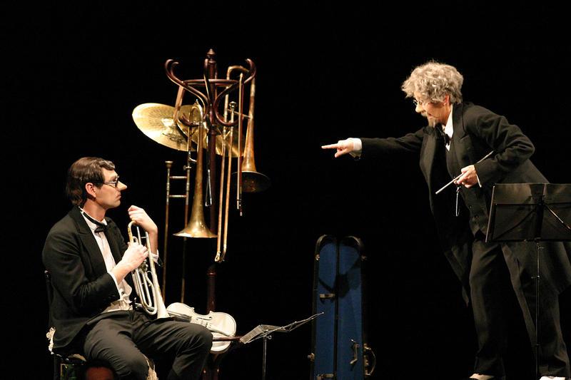 """""""Die Orchesterprobe"""" nach Karl Valentin ist ein wahrer Glanzpunkt komödiantischer Spielfreude."""