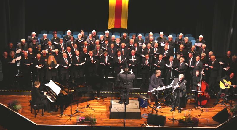 Singen am Sonntag, 10. November, gemeinsam zugunsten des stationären Hospizes: der Chorleiterchor Pfalz und der Liederkranz Apollonia 1844 Rastatt.