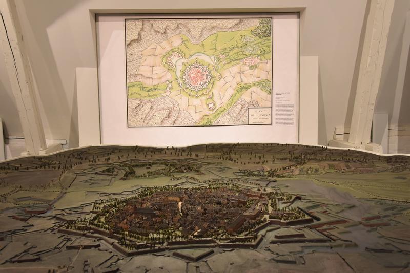 Das historische Modell der Festung stellt das Herzstück des Museums für Stadtgeschichte Landau in der Pfalz dar.
