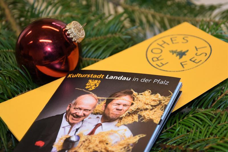 Kultur verschenken: Das geht auch in diesem Jahr zur Vorweihnachtszeit in der Kulturstadt Landau.