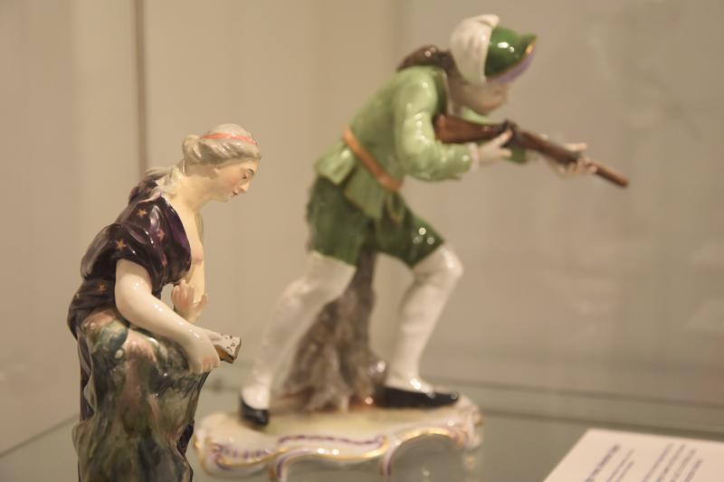 Schöne Stücke: Eine Auswahl aus Edith Fix' Sammlung von Frankenthaler Porzellan ist aktuell im Museum für Stadtgeschichte Landau in der Pfalz zu sehen.