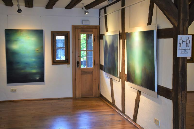 Ausstellung mit Bilder