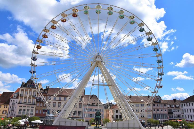 Riesenrad in Landau in der Pfalz