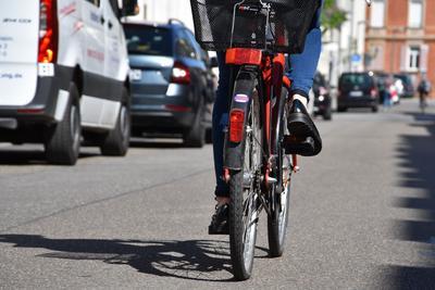 Umsteigen, bitte: Die Kampagne STADTRADELN wirbt aktiv für das Radfahren.